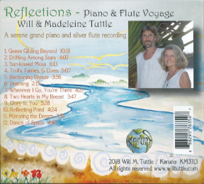 Reflections Back of CD