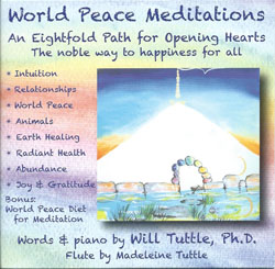 World Peace Meditations CD by Dr. Will Tuttle